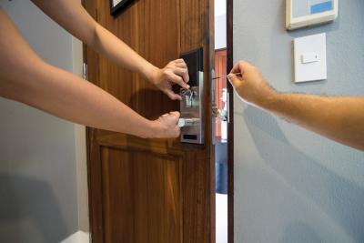 Lock repair and maintenance
