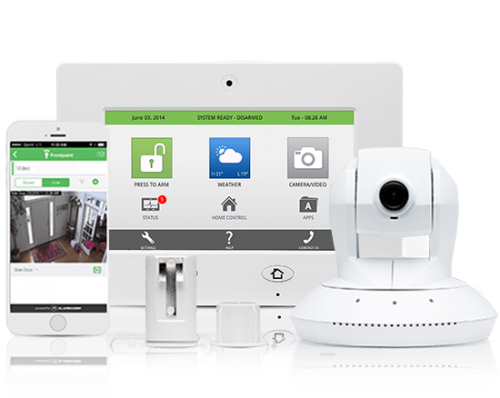 smart phone controlled home security